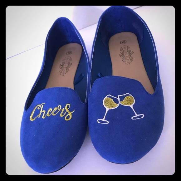 Charles Albert Cheers Blue Suede Shoes